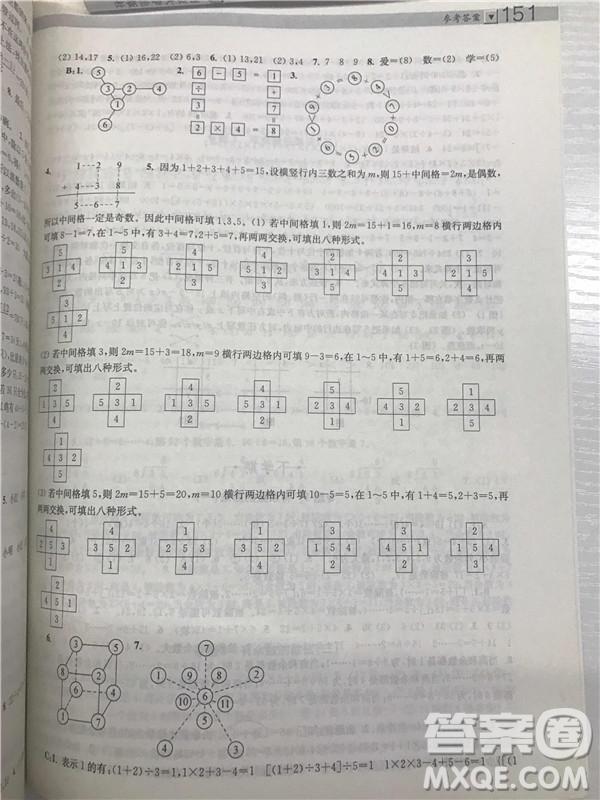 2018年迈向尖子生小学生阶梯数学培优题典2年级参考答案